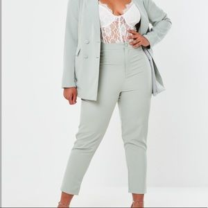 NEW Missguided Plus Co Ord Basic Cigarette Trouser